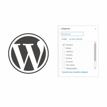 Wp search category admin